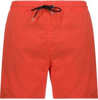 McQ Drawstring Waist Swim Shorts