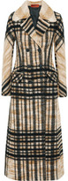 Missoni Checked Wool-Blend Coat