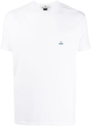 Vivienne Westwood embroidered logo crew neck T-Shirt