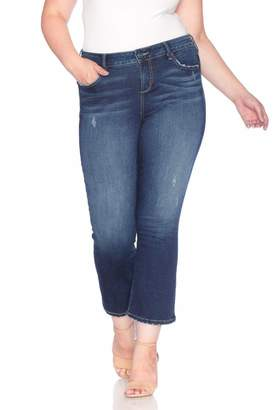 SLINK Jeans The Hi Waist Bootcut Pants in Sheela Size 14 Rayon/Polyester