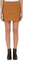Harvey Faircloth Women's Piqué-Weave Cotton Miniskirt
