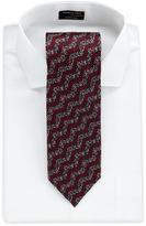 Missoni Wavy Zigzag Silk Tie, Red