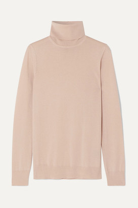 Loro Piana Puma Cashmere Turtleneck Sweater - Beige