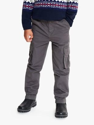 John Lewis & Partners Boys' Cuffed Cargo Trousers