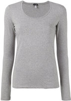 Armani Jeans classic sweater - women - Cotton/Spandex/Elastane - 38