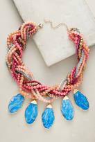 Anthropologie Braided Bib Necklace