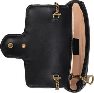 Gucci GG Marmont matelasse leather super mini bag