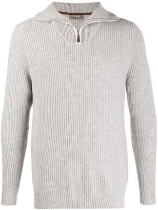 N.Peal Turnback Collar Cashmere Jumper