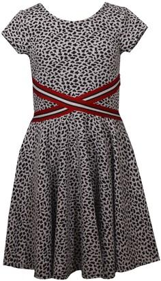 Bonnie Jean Girl's 7-16 Double Knit Skater Dress