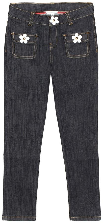 Little Marc Jacobs Stretch-cotton blend jeans