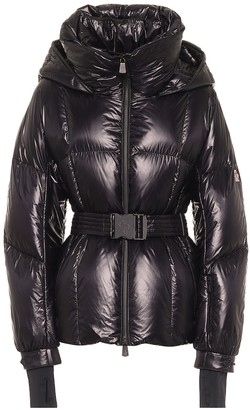 MONCLER GRENOBLE Grossaix belted down puffer jacket