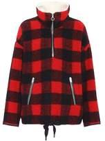 Etoile Isabel Marant Isabel Marant, Étoile Gilas checked wool-blend jacket