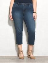 dressbarn WESTPORT Plus Size Classic Fit Capri Jeans