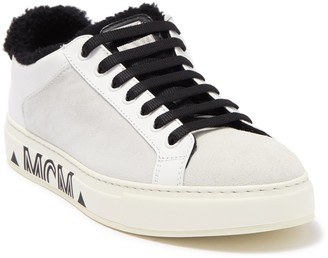 MCM Milano Genuine Shearling Lined Sneaker