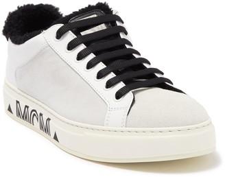 MCM Milano Genuine Shearling Lined Sneaker