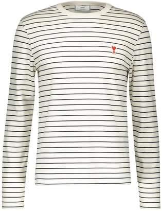 Ami Cotton heart sailor shirt