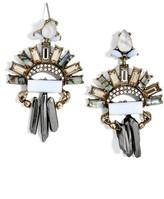 BaubleBar Women's Marita Crystal Drop Earrings