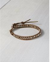 Express chan luu mixed bead single wrap bracelet
