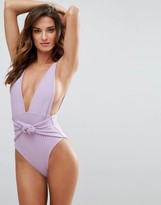 Skye And Staghorn Skye & Staghorn Plunge Swimsuit