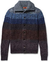 Missoni - Striped Mélange Wool-blend Cardigan