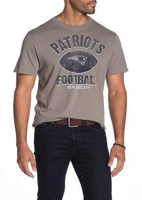 '47 NFL New England Patriots Splitter Short Sleeve T-Shirt