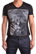 Tom Rebl Men's Black Cotton T-shirt.