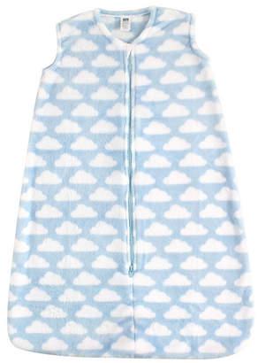 Hudson Baby Safe Sleep Micro-plush Wearable Sleeping Bag Blanket, 0-24 Months