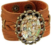 Leather Rock B902 Bracelet