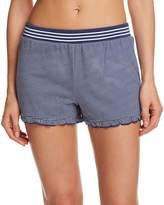 Splendid Striped Cotton PJ Shorts