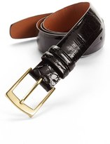 Trafalgar Men's Alligator Belt