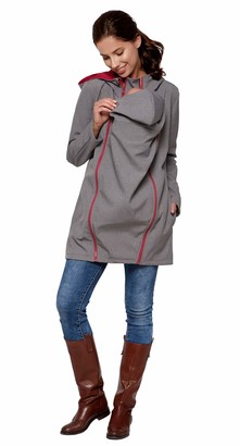 Be Mama   Maternity & Baby Wear Be Mama - Maternity & Baby wear Waterproof all-weather 3-in-1 Carrying Coat & Maternity Coat & Women's Coat Made of Softshell (Hydrostatic Head: 10 000 mm) - Multicolour - M