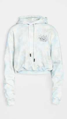 Off-White Meteor Shower Cropped Hoodie