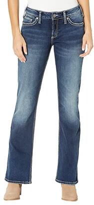 Silver Jeans Co. Suki Mid-Rise Curvy Fit Bootcut Jeans L9516SCP397 (Indigo) Women's Jeans