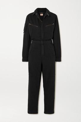 Ksubi Lucid Cotton-twill Jumpsuit - Black