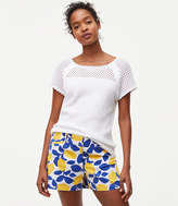 LOFT Lemonade Riviera Shorts with 4 Inch Inseam