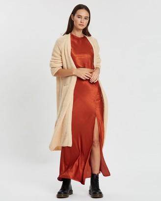 American Vintage Gilet Long Cardigan