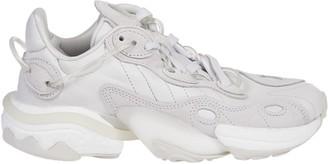 adidas White Torsion X Sneakers