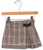 Burberry Girls' Plaid Skirt