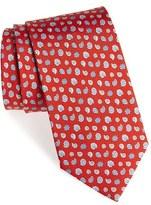 Salvatore Ferragamo Men's Shell Print Silk Tie