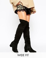 Fitted Over The Knee Boots - ShopStyle