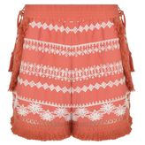 Rachel Zoe Karlene Fringe Embroidered Shorts
