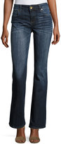 KUT from the Kloth Natalie High-Rise Bootcut Jeans, Adjust