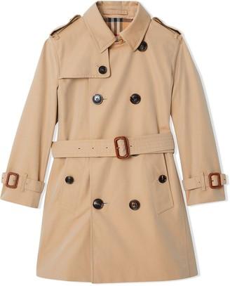 girls burberry coat