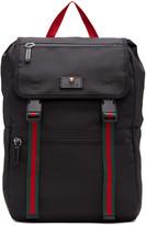 Gucci Black Techpack Backpack