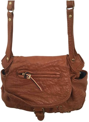 Jerome Dreyfuss Twee Mini Brown Leather Handbags