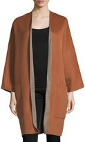 Vince Reversible Cardigan Wool-Cashmere Coat