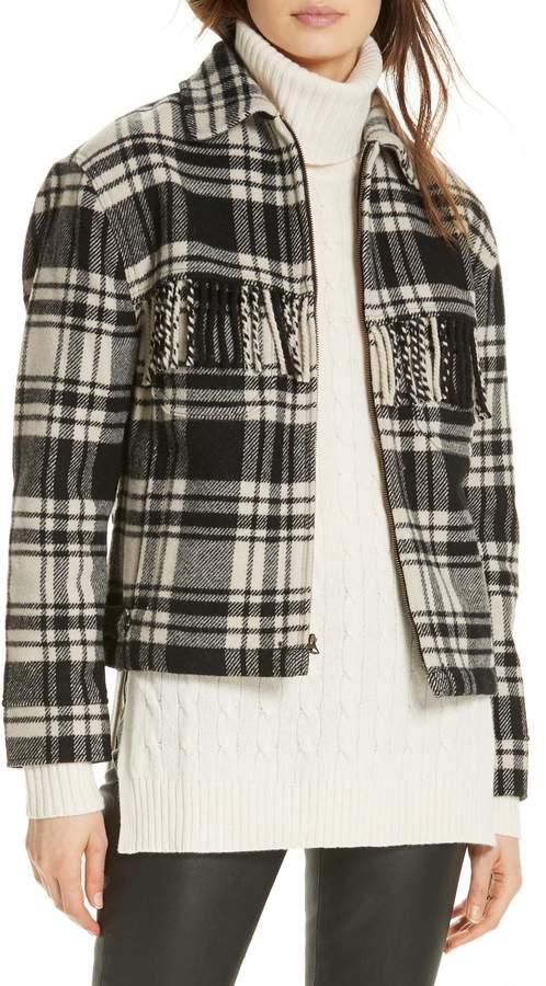 Polo Ralph Lauren Wool Blend Plaid Jacket