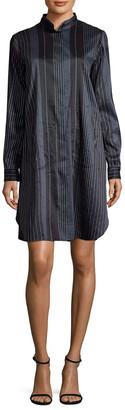 Zero Maria Cornejo Stripe Shirtdress
