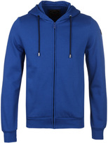 Paul & Shark Cobalt Blue Zip Through Hooded Sweatshirt