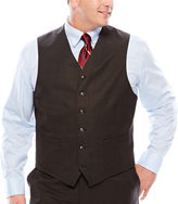 STAFFORD Stafford Travel Charcoal Suit Vest - Big & Tall